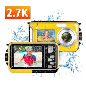 Kansing Waterproof Point and Shoot Camera