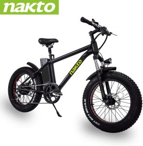 NAKTO Fat Tire Electric Mountain Bike