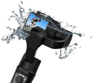 action camera water splash